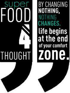 comfort zone... no way