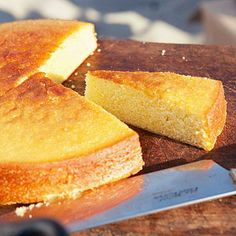 Olive Oil Cake (just top with seasonal fruit)