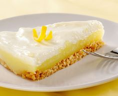 Gluten Free Lemon Chiffon Dessert #spon
