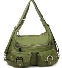 purs handbag, soft stone, stone wash, tote purs