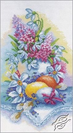 Still Life - Easter - Cross Stitch Kits by RTO - M262