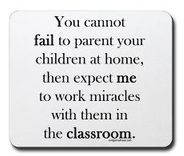 """""""You Cannot Fail to Parent Your Children at Home...."""""""