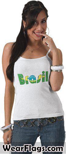 Brasil (#Brazil) Flag T-shirt, $19.95
