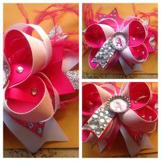 Cute idea fire breast cancer bow
