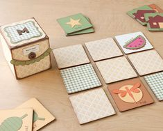 #DIY match game for kids! #CTMH