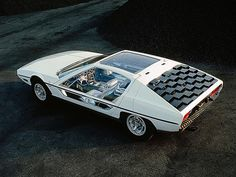 1967 Lamborghini Marzal Concept Car - Bertone's concept car introduced the shape and layout later applied to the Espada.