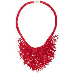 DIY 'Coral' necklace