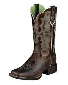 Country Outfitter: Ariat Tombstone Boot - Chocolate Chip/Brown