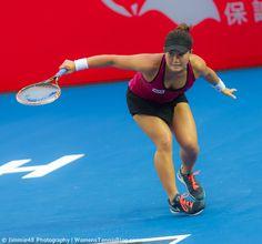 Grace Min - Prudential Hong Kong Tennis Open 2014 Full Monday gallery here: http://www.womenstennisblog.com/2014/09/08/monday-2014-hong-kong-open-highlights/