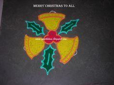 அழியாத கோலம் / रंगोली : Christmas Kolam