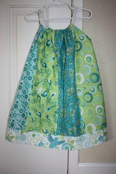 Bean's back to school pillowcase dress