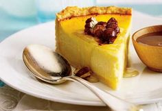 Gâteau à la ricotta et au miel