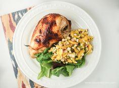 Baked Teriyaki Chicken by slenderkitchen #Chicken #Healthy #Light