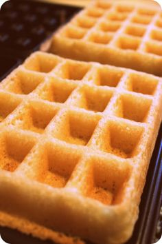 soft & crispy gluten-free waffles