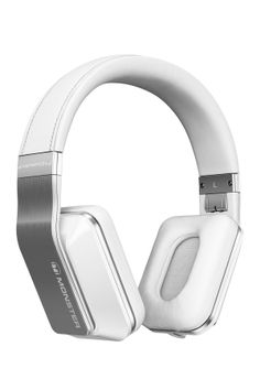Monster- Inspiration Active Noise Canceling Over-Ear Headphones - White