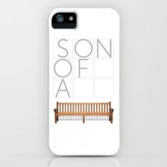 Son of a bench. iPhone Case by Mo.Awwad - $35.00