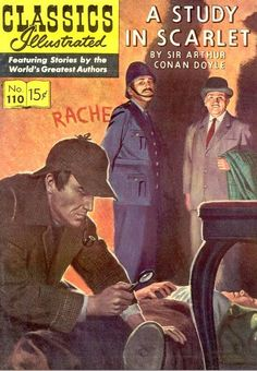 the50books:    45. study in scarlett  by: Sir Arthur Conan Doyle  195 pages