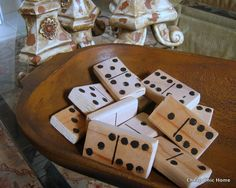 2x4's - anyone for a little game of yard dominoes? (I think I'd use 1x4's)