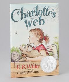 A classic! Charlotte's Web from HarperCollins on #zulily!