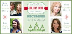 Holiday Home Link Party....