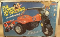 COLECO: 1982 The Dukes of Hazzard Mini Chopper General Lee #Vintage #Toys