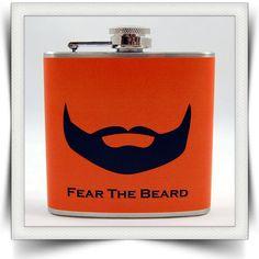 $18.95 Fear the Beard Flask #Giants #Flask #Baseball #Beard Brian Wilson San Francisco Giants
