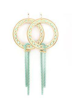 Mint Blake Earrings