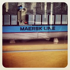 Picture of scale model from the Maersk Spain HQ - thanks for sharing @jmarla-#statigram