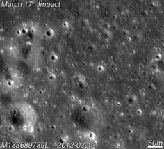 Smack! A New Crater Appears on the Moon/ Yutu Rover Update - Technology Org