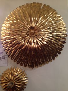 Six light wall mounted fixture named Broche from Crystorama - IHFC D320 #hpmkt