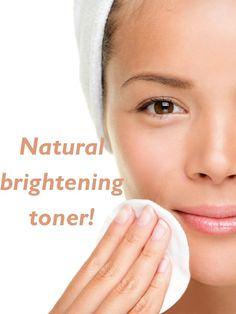 Natural brightening toner