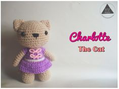 "free pattern : Charlotte the Cat by ""NVKatherine"""