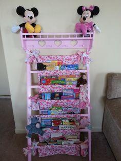 Repurposed Old Crib