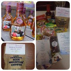 Jamaica Destination Wedding Gift Bag Ideas : Jamaican wedding favors and welcome baskets by Helen G Events # ...