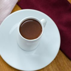 Drinking Chocolate (Dark Hot Chocolate) #paleo #glutenfree #dairyfree