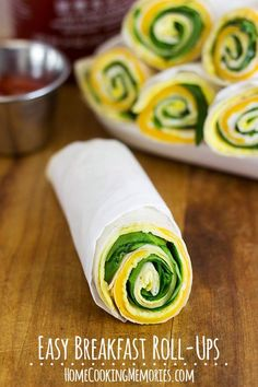 Easy Breakfast Roll-Ups  #15MinuteSuppers