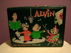 Alvin and The Chipmunks Lunch Kit (1963)