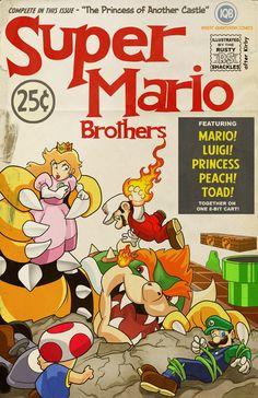 Super Mario Brothers Comic