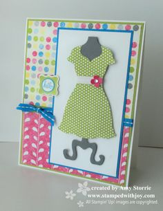 Stampin' Up! Card  by Amy S at Stamped With Joy: Dress Up