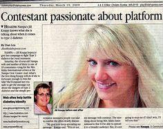 Jill Knapp Diabetes Advocate, Motivational Speaker, Mrs Idaho Pageant has passion behind platform...