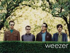 love them. the only band i own every album of.  concerts, music, sweater, song, band, favorit, book, rock, weezer