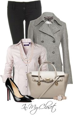 """""""Back To Work"""" by in-my-closet on Polyvore"""