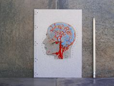 Notebooks Adorned with Hand-embroidered Blood Vessels, Insects, and Geometric Patterns  http://www.thisiscolossal.com/2014/09/hand-embroidered-notebooks/