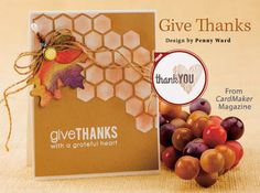 Give Thanks from the Winter 2014 issue of CardMaker Magazine. Order a digital copy here: http://www.anniescatalog.com/detail.html?code=AM5255