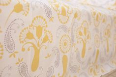 Country Style Decor Luxury Bed Linens Hand Block Printed Textiles