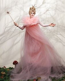 Fairy GrandMartha for the upcoming issue of Martha Stewart/Halloween. She looks amazing!