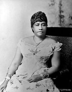 Queen Lili'uokalani - The Last Queen of Hawaii, 1891-1893 - Retronaut