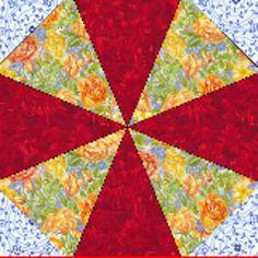 Kaleidoscope Quilt Block | Free Quilt Tutorial | FaveQuilts.com