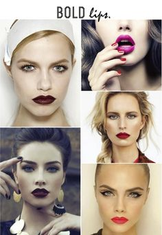 Now Craving: Bold Lips