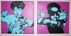 DIY Andy Warhol Inspired Pop Art!